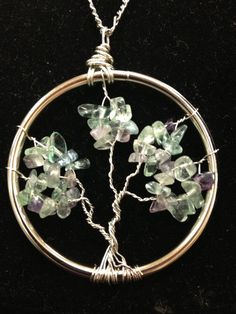 Tree of Life with Fluorite $40.00