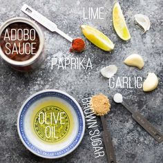 chipotle lime marinade text