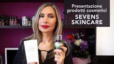 Presentazione prodotti cosmetici SEVENS SKINCARE