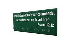 Running medal holder bible verse Gifts for by runningonthewall