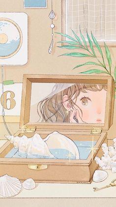 Soft Wallpaper, Aesthetic Pastel Wallpaper, Kawaii Wallpaper, Aesthetic Wallpapers, Aesthetic Drawing, Aesthetic Anime, Aesthetic Art, Cute Art Styles, Rosa Rose