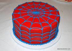 spiderman cake - Google Search