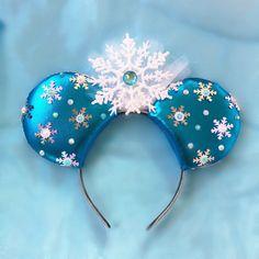 Frozen Elsa Mickey Ears Frozen Disney Inspired by ToNeverNeverland