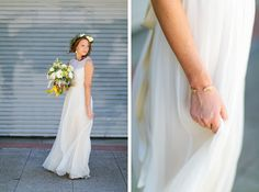 Bridal Details #sandiegowedding #luceloft #yellowbouquet