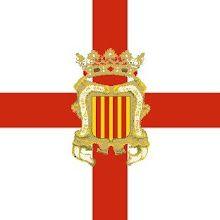 Bandera Coronela del Regiment d'Infanteria de la Generalitat de Catalunya. Exèrcit de Catalunya (1705-1714)
