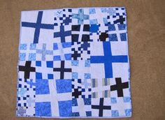 iQuilt: Wonky Crosses