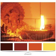 diwali, Color Palettes & Color Swatches