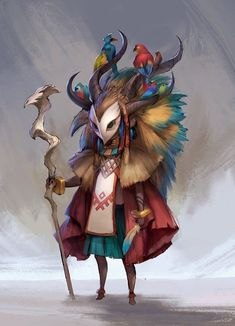 """Winners of the """"African Tribes"""" Challenge - Su Burcu - personnage Male Character, Fantasy Character Design, Character Design Inspiration, Game Character Design, Character Concept Art, Character Modeling, Game Design, Design Art, Design Ideas"""