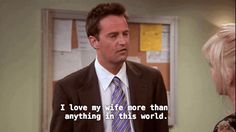 And when Chandler convinced Erica to let them adopt her baby.