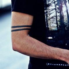 my arm band tattoo #ink #tattoo #bandtattoo #arm #bandtattoo
