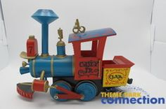 Image detail for -... Disneyland Casey Jr Railroad Train Locomotive G-Scale Accucraft Model