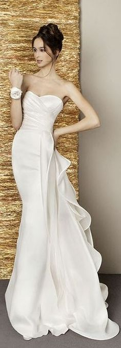30+ Beauty Dazzling Wedding Dresses from Antonio Riva That You Must Know - weddingtopia
