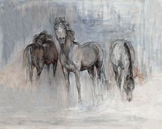 Horse Canvas Painting, Bull Painting, Painting & Drawing, Abstract Art For Sale, Original Art For Sale, Watercolor Horse, Horse Wall Art, Equine Art, Art Drawings Sketches