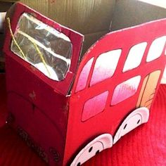 Recycled London Bus Craft