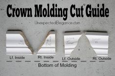 Tips for Hanging Crown Molding Like a Pro Have you always wanted to add crown molding to a space but are paralyzed by fear of not doing it right? Get some awesome Tips for Hanging Crown Molding Like a Pro.from a NON-PRO!