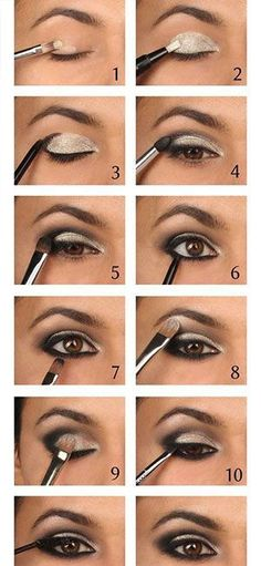 10 steps to the perfect smokey eye!