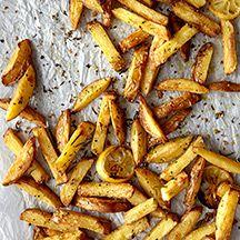Garlic, Rosemary and Lemon Oven Fries, WW+ = 3