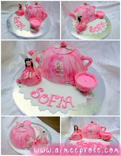 Teapot Fairy Cake