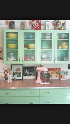 At some point further down the line would love to have this colour and style kitchen