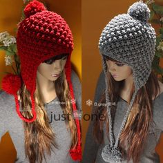 Sweet Girl Ladies Winter Ball Earflap HAT Women Warm SKI CAP Beanie