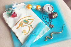 Cleopatra + Egyptian themed birthday party via Kara's Party Ideas KarasPartyIdeas.com #egyptianparty (35)