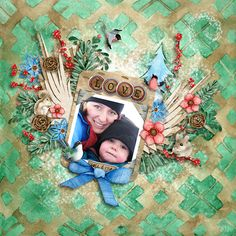 Layout by Createwings also used Fuss Free Learn To Fly 2 Template by Fiddle-Dee-Dee Designs