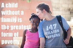 A child without a family is the greatest form of poverty. #help1haiti (photo by Scott Wade)