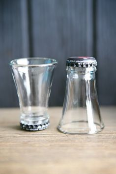 jukavo:  Upcycled shot glasses