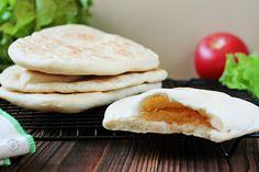 Gotowanie...to proste!: Chlebek Pita Z Patelni