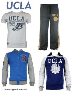 UCLA | The huge sporting university has produced a legacy of Olympic athletes. This combination is perfect for working out - find it at www.hypedirect.com