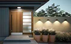 When designing your backyard, don't forget to carefully plan your lighting as well. Get great ideas for your backyard oasis here with our landscape lighting design ideas. Interior Modern, Home Interior, Stylish Interior, Interior Decorating, Interior Design, Modern Landscape Lighting, Modern Lighting, Lighting Ideas, Modern Exterior Lighting