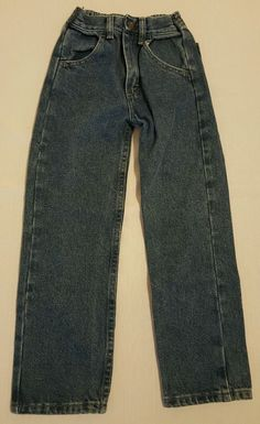 Boys Rustler Classic Straight Blue Jeans Size 7 Slim 7S #493 in Clothing, Shoes & Accessories, Kids' Clothing, Shoes & Accs, Boys' Clothing (Sizes 4 & Up)   eBay Back to school shopping, Christmas Shopping