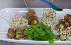 Δύο συνοδευτικά μεζεδάκια για κρασί Finger Foods, Potato Salad, Easy Meals, Snacks, Chicken, Meat, Cooking, Ethnic Recipes, Food Food