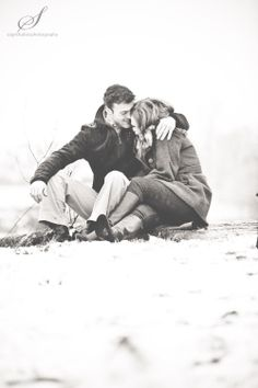 Winter engagement shoot