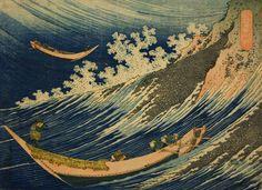 magictransistor:  Katsushika Hokusai