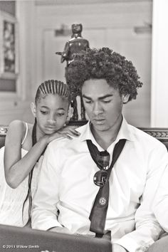 Willow Smith and Trey Smith