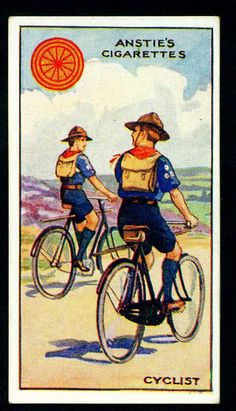 Cigarette Card - Scout Series #23 by cigcardpix, via Flickr