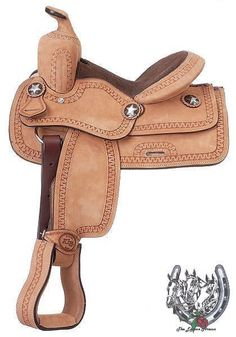 "11"" Children's Youth Roughout Cowboy Western Saddle"