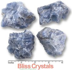1 Jumbo BLUE CALCITE Rough Stone Crystal Mineral by BlissCrystals