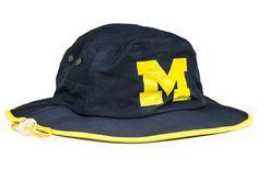 best cheap d9017 3093b Michigan Blue Waterproof Boonie. Michigan WolverinesSnapbackMichigan Blue HatsProductsSombrerosHatSnapback ...