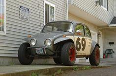 Volkswagen Beetle Baja Bug (1970).