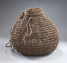 Object: Korotete (corf; holding pot for eels or lamprey) | Collections Online - Museum of New Zealand Te Papa Tongarewa