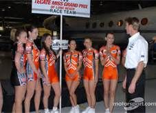 2007 Tecate Light Miss Toyota Grand Prix of Long Beach Race Team