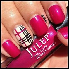 Cute for Spring/Summer. Could do this with almost any color, too!