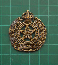 Cap-Badge-Indian-Electrical-Mechanical-Engineers-KC-AB-B-5952