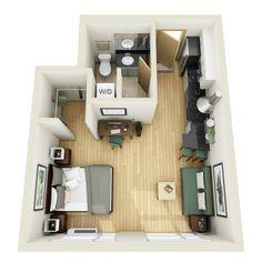 Cozē Flats In Minneapolis Features Studio, And Floor Plans.