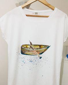 """""""Gel benimle çok çok uzaklara  Hüzünlerini bir parça aşkla değiştir  Gel benimle bilinmez duraklara  Mevsimlerini bir dalga yaza dönüştür."""" Yavaş yavaş gitmek isteyenlere gelsin.⛵⛵⛵#design #tasarim #artsy #instaart #art #artoftheday #illustration #handmade #homemade #elyapimi #boyama #painting #instagood #sanat #cool #cute #colorful #fashion #sea #blue #antalya #maker #creative #instamood #beautiful #ship #fish"""
