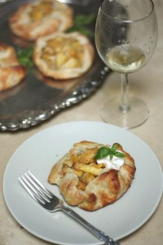 Mango Pineapple Galettes by Completely Delicious, via Flickr