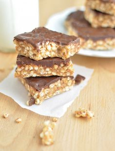 Peanut Butter, Dark Chocolate Treats - naturally sweetened, wholesome, healthy.