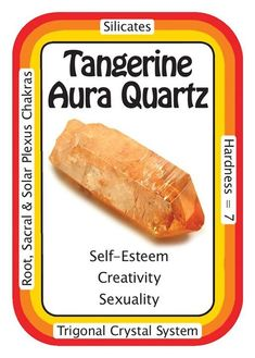 """Crystal Card of the Day: Tangerine Aura Quartz, """"I AM Worthy."""" Tangerine Aura (Melon Aura) is created when Clear Quartz crystals are super-heated in a vacuum and infused with vaporized Gold & Iron. Crystals And Gemstones, Stones And Crystals, Herbal Remedies, Natural Remedies, Oils For Sinus, Tangerine Quartz, Crystal System, Meal Prep For The Week, Gems And Minerals"""
